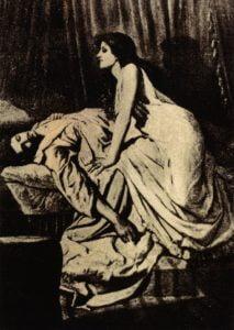 Philip Burne-Jones Bt. Wampir