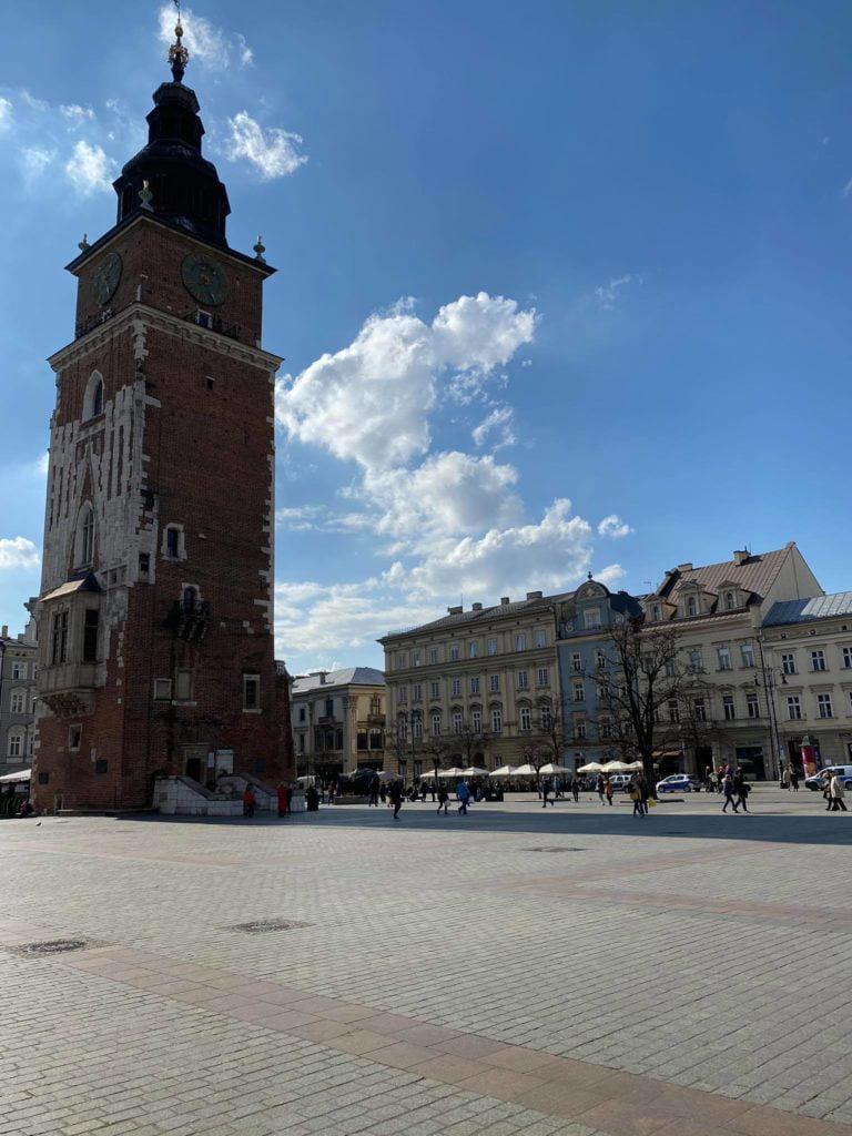 Koronawirus: Kraków opustoszał