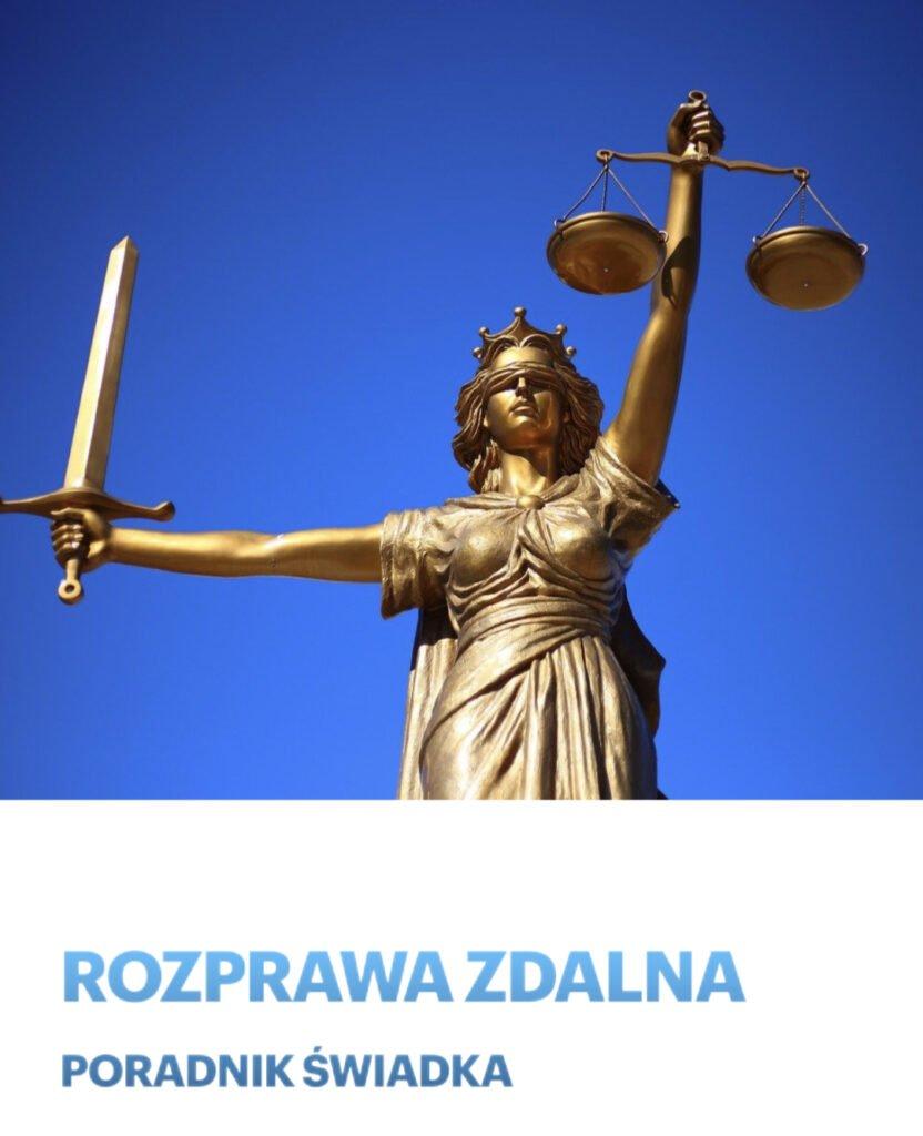 Rozprawa zdalna - poradnik świadka