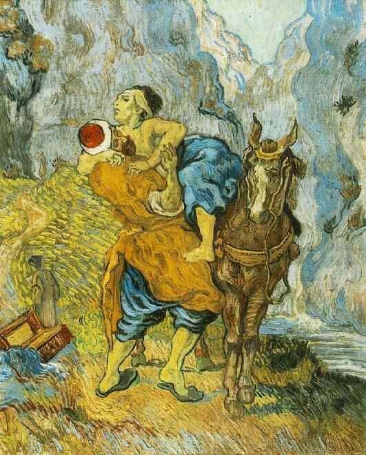 Klauzula dobrego Samarytanina (obraz za van-gogh.pl)